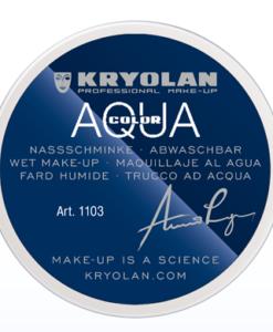 Aqua color Bianco Kryolan 070 – 55ml