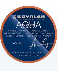 Aquacolor Arancione Kryolan 288 – 8 ml