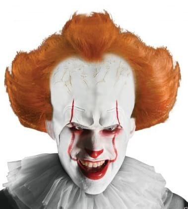 Parrucca IT Pennywise pagliaccio clown horror