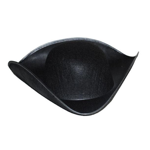 stile classico del 2019 la più grande selezione di lusso Cappello tricorno pirata in feltro nero