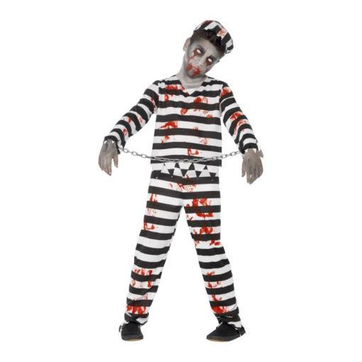 Costume carcerato zombie bimbo