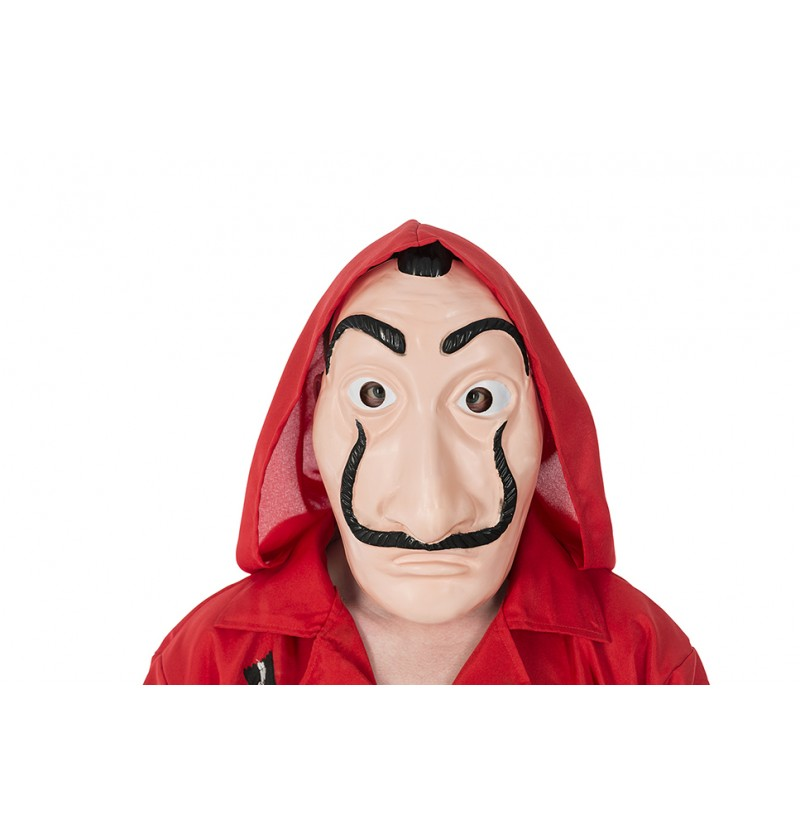 maschera dali casa di carta  Maschera Salvador Dali rapinatore della Casa di Carta originale ...