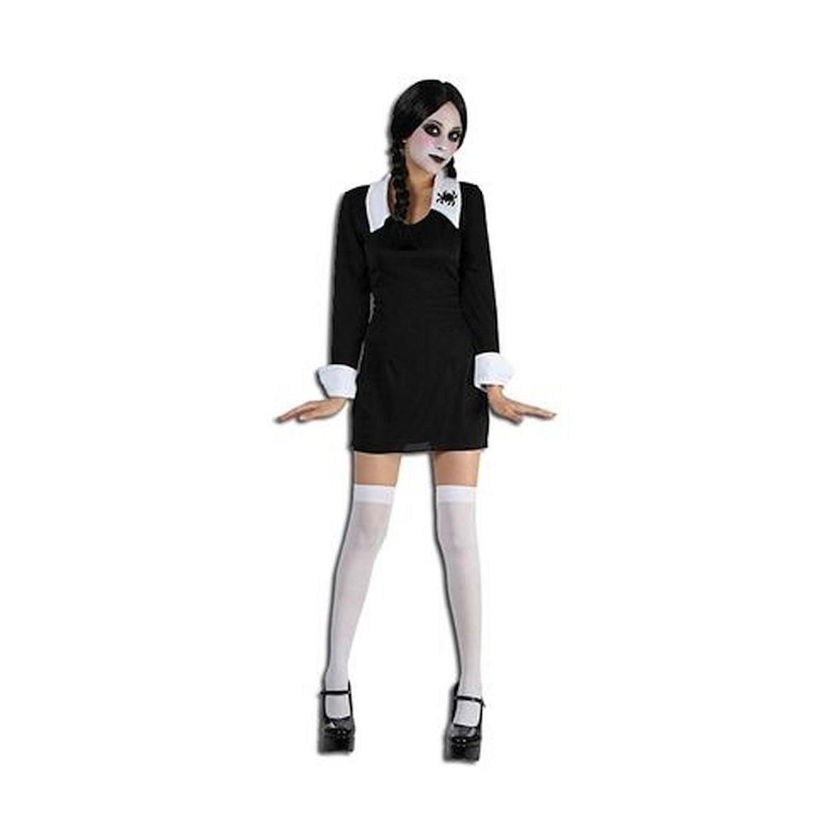 metà fuori pensieri su moderno ed elegante nella moda Costume Mercoledi bimba La Famiglia Addams