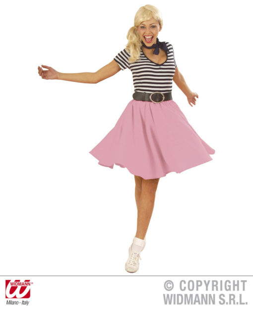 the latest 63856 6defa Gonna rosa Rock 'n' Roll-anni 50 Grease-Pin up