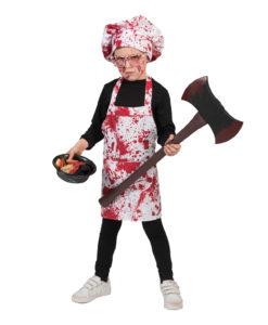 Costume cuoco/chef insanguinato