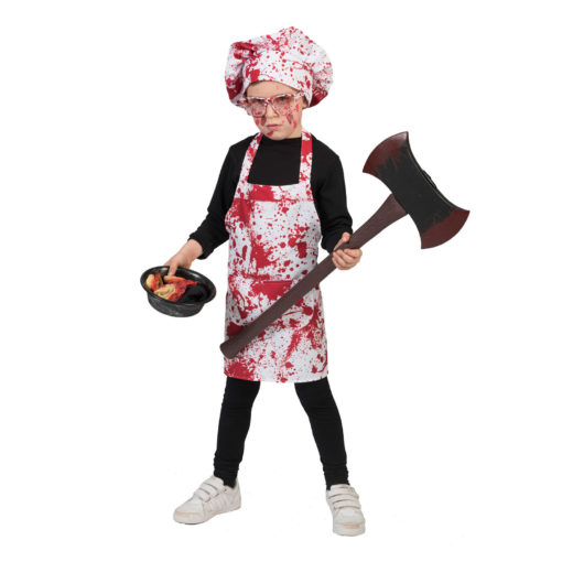 Costume cuoco/chef insanguinato
