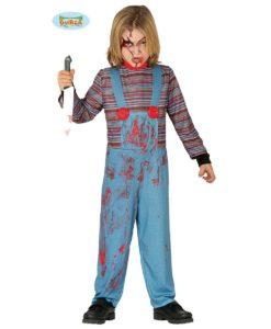 Costume Chucky bimbo
