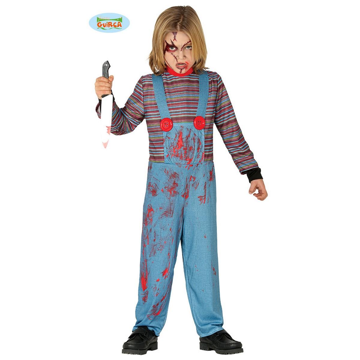 originale a caldo corrispondenza di colore vendita calda Costume Chucky bimbo