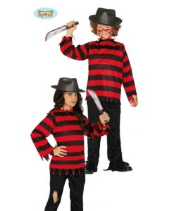 Costume Freddy Krueger Nightmare bimbo