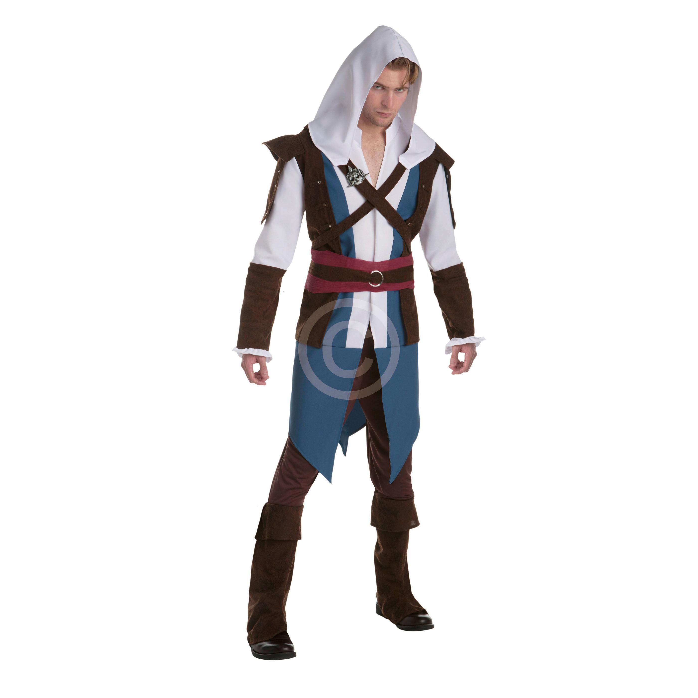 Costume edward kenway assassins creed adulto u2013 taglia l shop