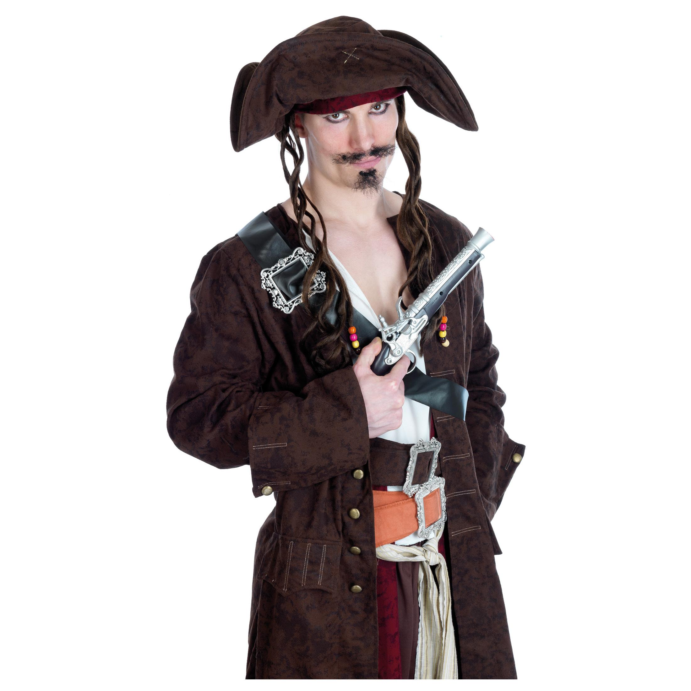 NUOVO Pirati maledizione Costume Make Up Set Accessorio