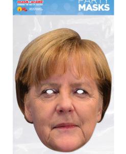 Maschera Angela Merkel 3D cartonicno