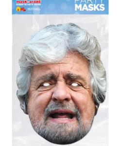 Maschera Beppe Grillo 3D cartonicno
