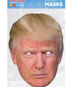 Maschera Donald Trump 3D cartonicno