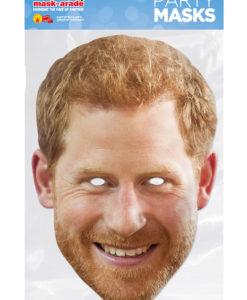 Maschera Principe Harry 3D cartonicno